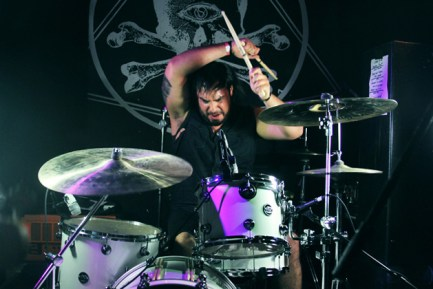 Drummer Frank Godla of Meek Is Murder