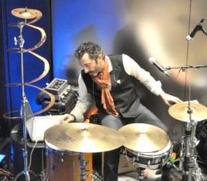 Drummer Doug Yowell