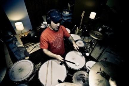 drummer Lance Garvin from Living Sacrifice