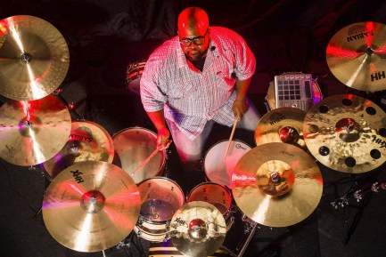 "Drummer Blog: Dre ""Energy"" Boyd Checks in From Cirque du Soleil"