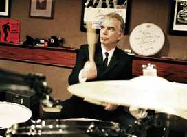Billy Bob Thornton in Modern Drummer