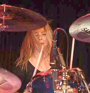 Elie Bertrand of Scarlet Sins : Modern Drummer