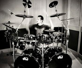 John Chominsky of Final Gravity : Modern Drummer