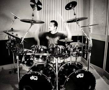 John Chominsky of Final Gravity : Modern Drummer
