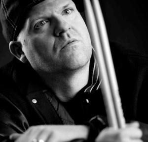 Drummer Swiss Chris of Gloria Gaynor