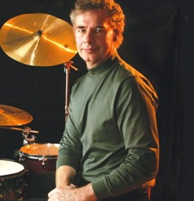Drummer Bill Bruford