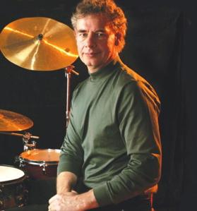 Drummer Bill Bruford