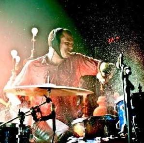 Drummer Darren King of MUTEMATH