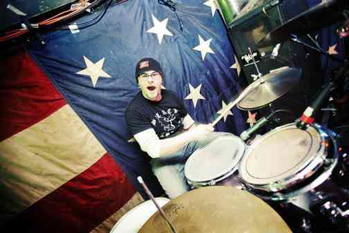 Kevin Hogle of 500 Miles To Memphis : Modern Drummer