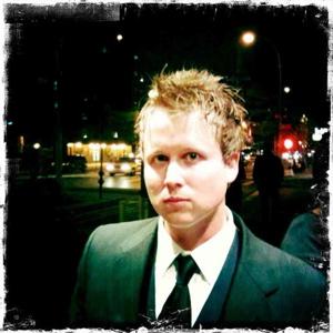 Drummer Tommy Roalson of Alpha Rev