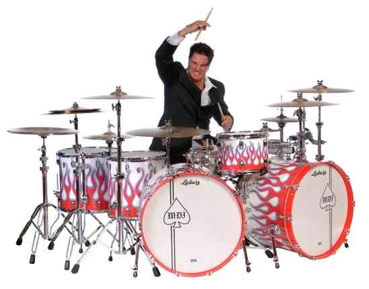 """Steve Moore """"The Mad Drummer"""""""