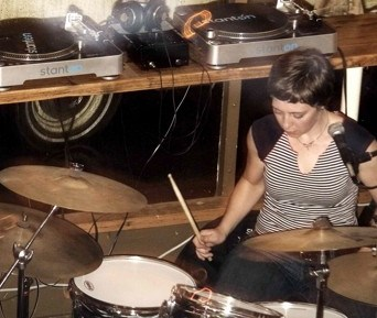 The Corin Tucker Band 's Sara Lund Modern Drummer Drummer Blog