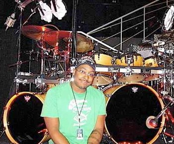 Nate Morton with Cher Modern Drummer Drummer Blog