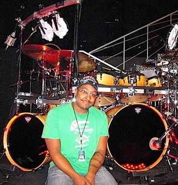 Nate Morton with Cher Modern Drummer Drummer Blog