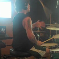 Tanner Wayne of Chiodos Modern Drummer Video
