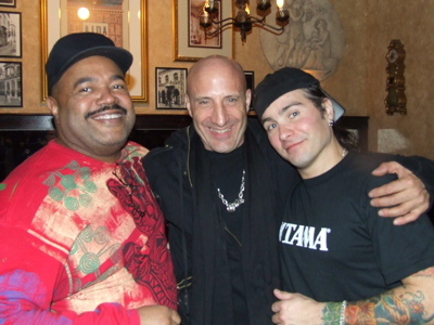 Dennis Chambers and Kenny Aronoff with Jason