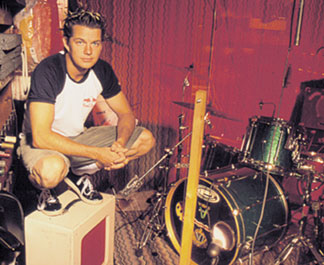 Drummer Adrian Young of No Doubt