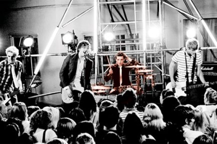 Drummer Harry Judd of McFly