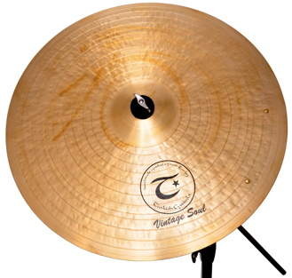Listen to sound files of Turkish Vintage Soul cymbals.