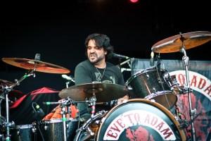 Alex Sassaris of Eve to Adam : Modern Drummer