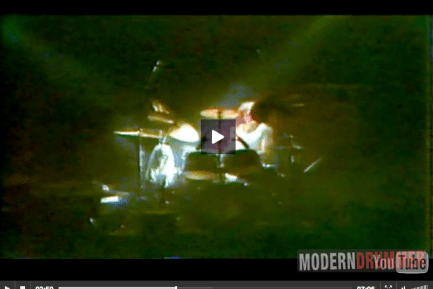 Pierre Moerlen Classic Video Clip : Modern Drummer