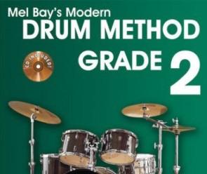 Online Review Mel Bay's Modern Drum Method Grade 2 Book