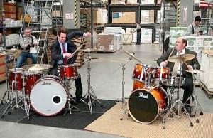 Steve Moore, aka the Mad Drummer