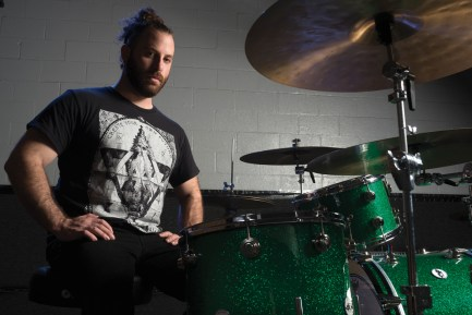 Drummer Dave Elitch