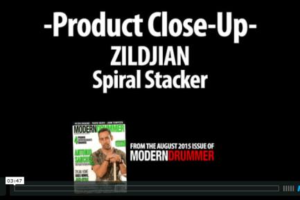 Zildjian FX Series Spiral Stacker