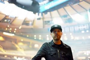 Chris Carhart, the drummer for Phantogram