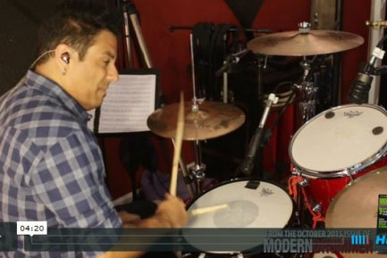 Video Lesson! Necessary Ruffness: Make Your Grooves Percolate With Subtle Doubles
