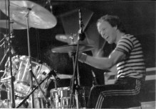 Drummer Greg Errico in 1974