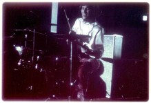 Drummer Greg Errico Dec 68 at the Spectrum Philly Pa