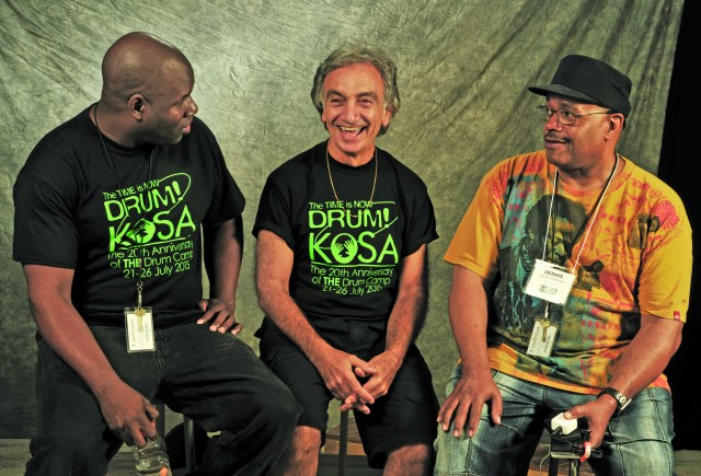 John Blackwell, Aldo Mazza, and Dennis Chambers