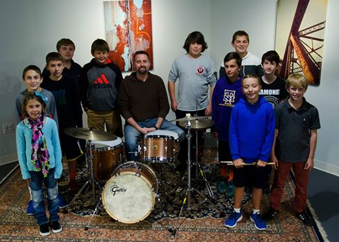 Drum Center of Portsmouth Supplies Portsmouth Music and Arts Center with Gretsch Drumset