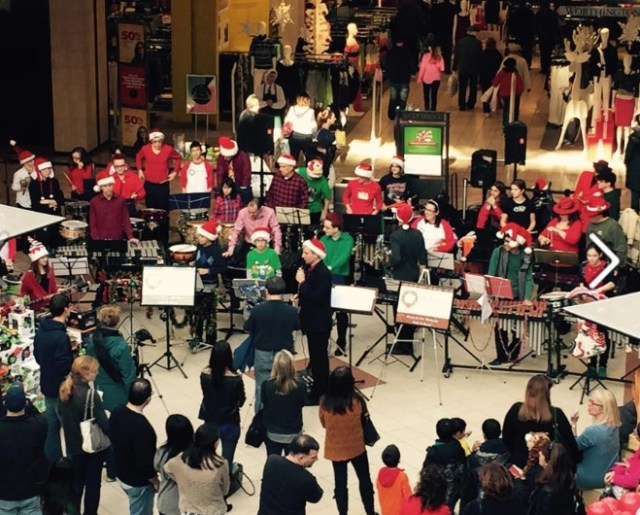 """New Jersey's """"Holiday Percussion"""""""