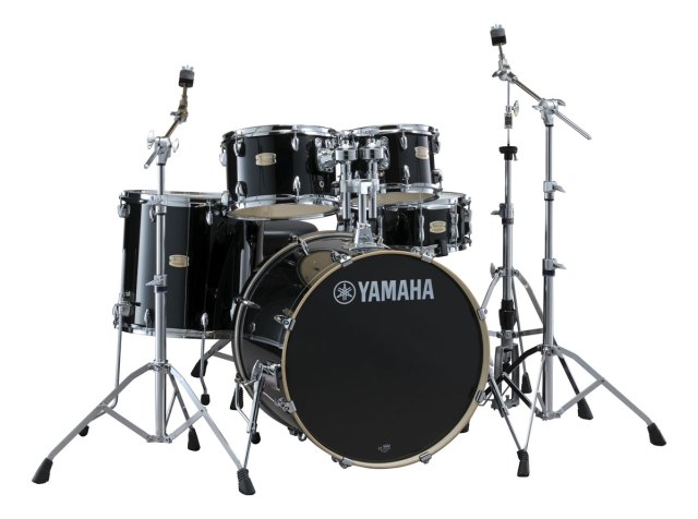 Yamaha five-piece Stage Custom Birch acoustic drumset with Yamaha 700 Series hardware