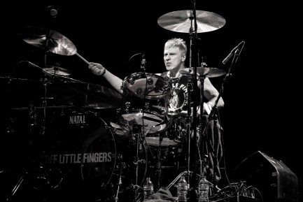 Steve Grantley of Stiff Little Fingers & RT-Zed