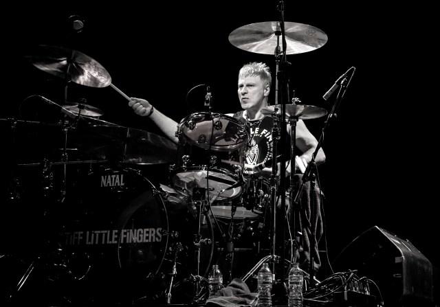 Steve Grantley of Stiff Little Fingers & RT-Zed
