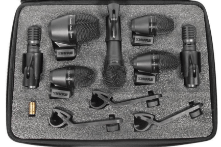 Audio Demo! Shure - PGADRUMKIT7 Mic Pack