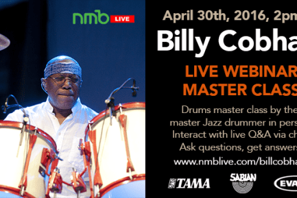 Billy Cobham Live Master Class Webcast
