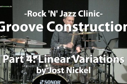 Rock 'N' Jazz Clinic - Groove Construction, Part 4