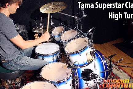 Video Demo! Tama Superstar Classic Drumset