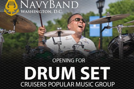 United States Navy Band Drumset Opening