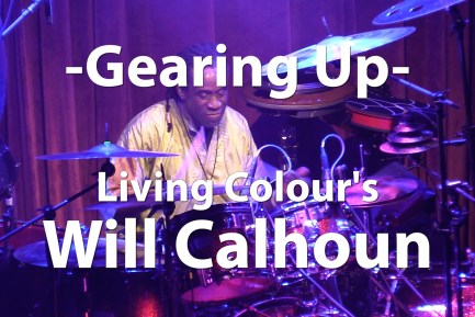 Video Tour! Will Calhoun's Living Colour Kit