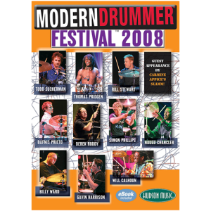 2008 Modern Drummer Festival DVD 4-Disc Set
