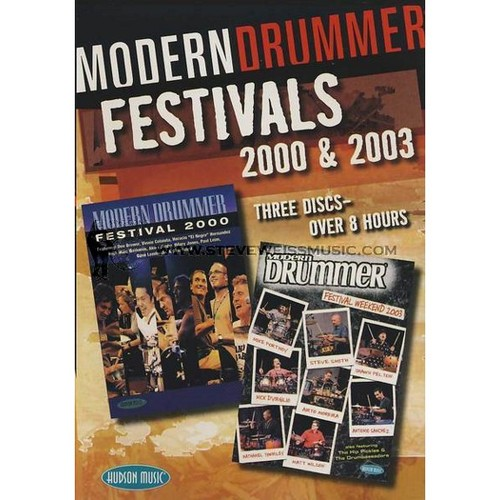 2000 and 2003 Modern Drummer Festival Weekend DVD Combo Pack