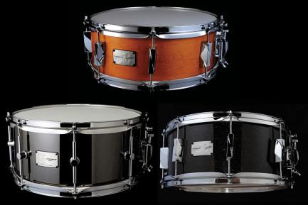 Video Demo! Canopus - Yaiba II Maple, Yaiba II Birch, and Black-Nickel Brass Snares
