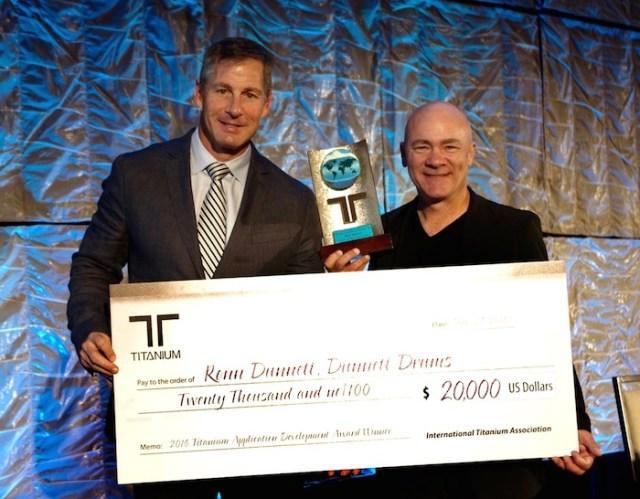 Ron Dunnett ITA Award