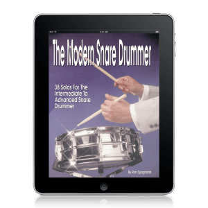 The Modern Snare Drummer Book (Digital)
